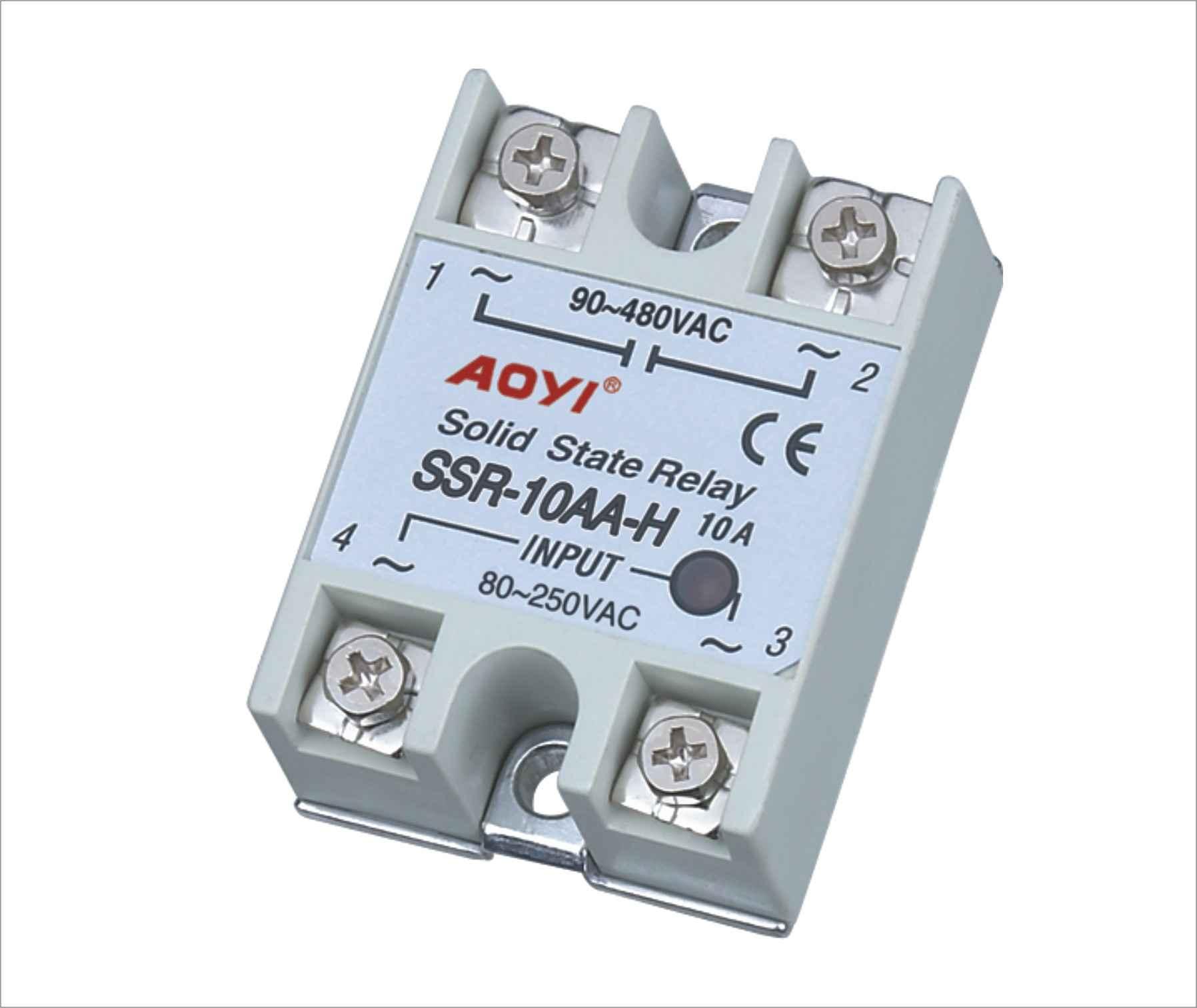 ssr单相固态继电器 - 固态继电器